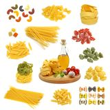 Pasta mix Stock Images