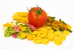 Pasta mix Royalty Free Stock Images