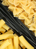 Pasta mix Stock Photo