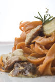 Pasta with mushrooms Royalty Free Stock Photography