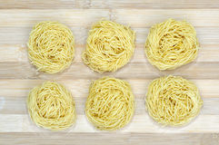 Pasta nest Royalty Free Stock Photography