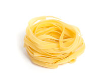 Pasta nest Stock Images