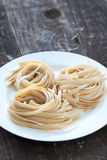 Pasta Nests Stock Photo