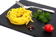 Pasta Nests Noodles Stock Photography
