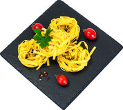Pasta Nests Noodles Stock Photo