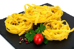 Pasta Nests Noodles Royalty Free Stock Image