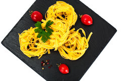 Pasta Nests Noodles Royalty Free Stock Photography