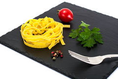 Pasta Nests Noodles Stock Image