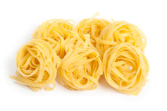 Pasta nests Stock Image