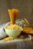 Pasta, noodles and spaghetti Royalty Free Stock Image