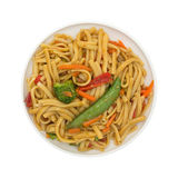 Pasta Noodles Vegetables Stock Image