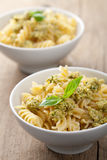 Pasta with olive tapenade Stock Photo