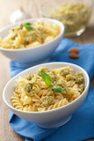 Pasta with olive tapenade Stock Image