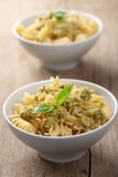 Pasta with olive tapenade Royalty Free Stock Photo