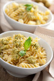 Pasta with olive tapenade Royalty Free Stock Photos
