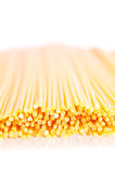 Pasta On White Close Up Royalty Free Stock Photos