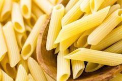 Pasta organica fotografia stock