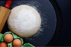 Pasta organica casalinga Immagine Stock