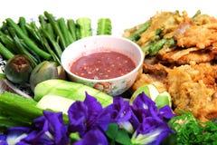 Pasta ou Nam Prik Ka Pi do camarão Fotografia de Stock