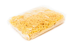 Pasta in package Royalty Free Stock Photos