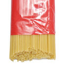 Pasta packaging. Royalty Free Stock Photos