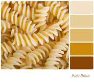 Pasta palette Royalty Free Stock Images