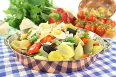 Pasta pan Stock Image