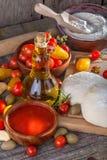 Pasta para las pastas italianas Imágenes de archivo libres de regalías