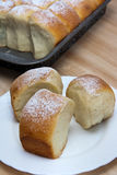 Pasta para los bollos Foto de archivo