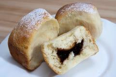 Pasta para los bollos Imagen de archivo