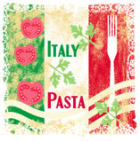 Pasta pattern Stock Images