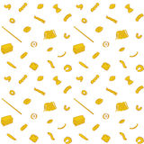 Pasta Pattern Royalty Free Stock Photo