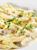 Pasta Penne royalty free stock photo