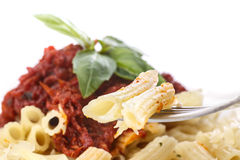 Pasta penne Stock Image