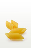 Pasta (penne) closeup w/ clipping path Royalty Free Stock Image