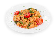 Pasta penne rigate Royalty Free Stock Photo