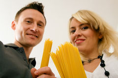 Pasta People Series Stock Images