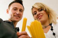 Pasta People Series Royalty Free Stock Photos