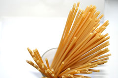 Pasta perspective: maccaroni Royalty Free Stock Photography