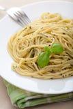 Pasta pesto Royalty Free Stock Photo