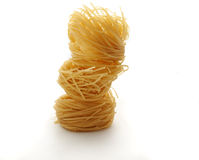 Pasta pile Royalty Free Stock Image