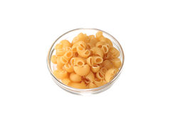 Pasta Pipe rigate royalty free stock photos