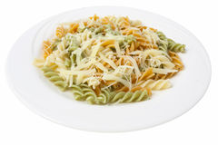 Pasta on the plate Stock Photo