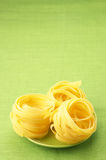 Pasta on plate Royalty Free Stock Photography