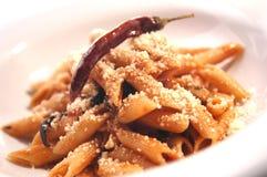 Pasta plate Royalty Free Stock Photos