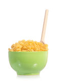 Pasta in plate Royalty Free Stock Image