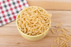 The pasta in plate. Royalty Free Stock Image