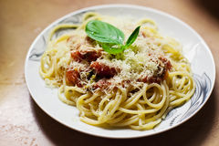 Pasta Pomodoro Royalty Free Stock Photography