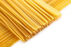 Pasta posted on the a row Stock Images