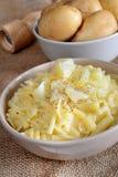 Pasta and potatoes Royalty Free Stock Image